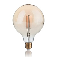 Лампа Ideal Lux 151724 LAMPADINA VINTAGE E27 4W GLOBO BIG